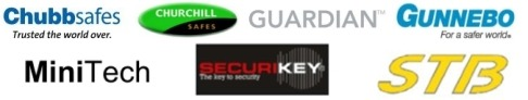 Trustee Safes supplies Chubb Safes, Churchill, Guardian, Gunnebo, MiniTech, Securikey and STB  in Ireland & UK